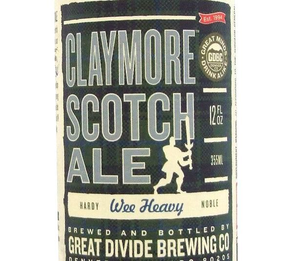 Great Divide Claymore Scotch Ale 355ml Beer in New Zealand - http://www.nlbeer.co.nz/beer-from-netherlands-in-nz/great-divide-claymore-scotch-ale-355ml-beer-in-new-zealand/ #NL #Netherlands #beer #NewZealand