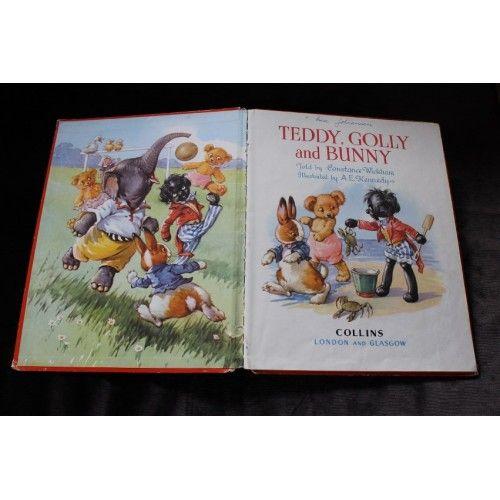 Teddy, Golly and Bunny (ENGELSK)