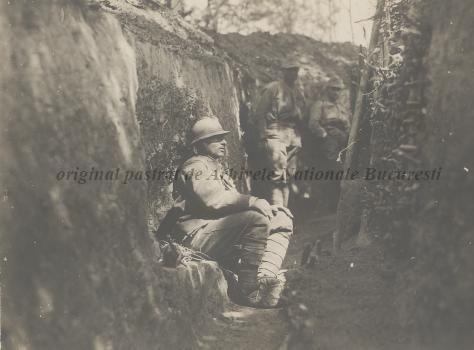 BU-F-01073-1-08762 Primul război mondial. Tranşee, s. d. (sine dato) (niv.Document)