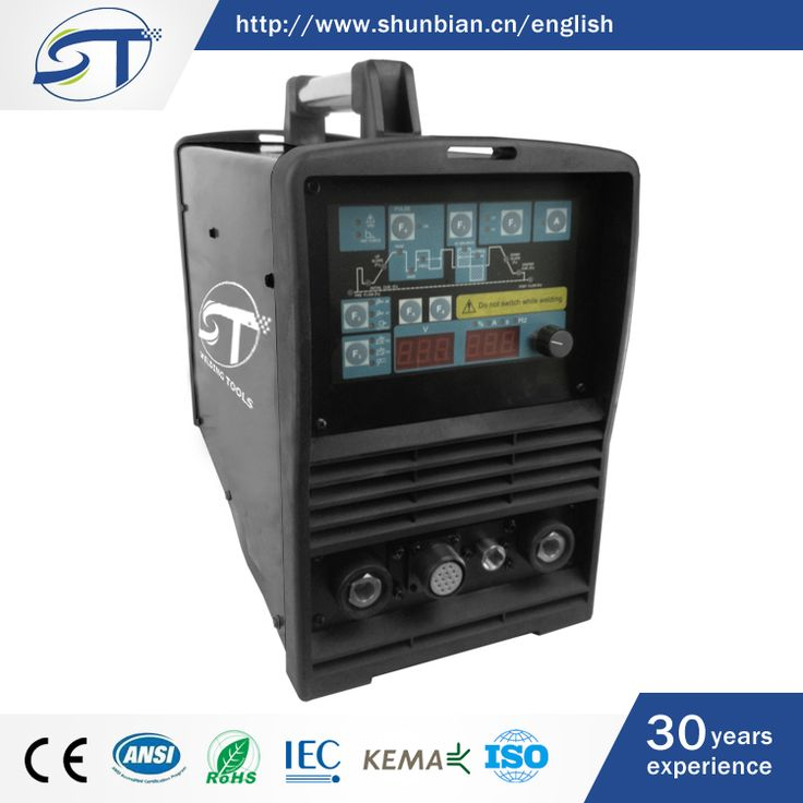 SHUNTE China Widely Used Portable Tig 200P ACDC Welding Machine Aluminum Welder