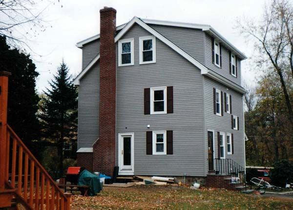 Another great third story dormer addition