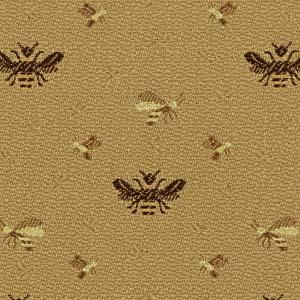 Robert Allen Busy Bees Sesame Fabric