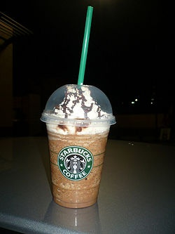 Starbuck Java Chip Frappe Recipe -   4 tablespoons chocolate syrup plus extra for drizzle (optional)  4 tablespoons chocolate chunks  4 cups double-strength freshly brewed dark roast coffee.  Crushed ice  Whipped cream (optional)