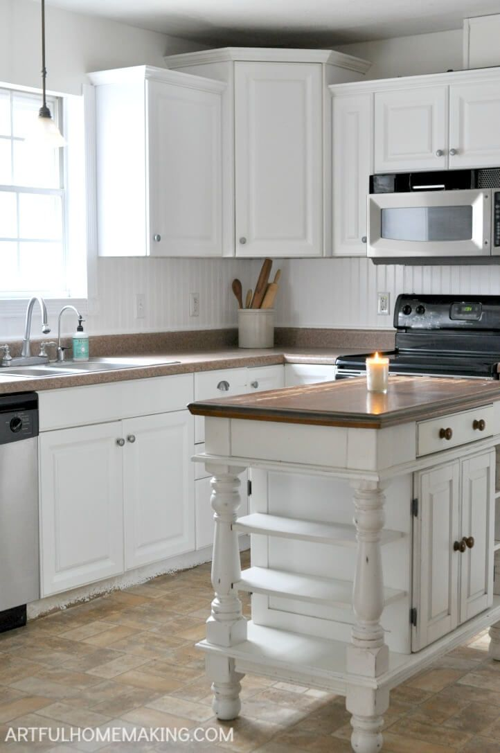 How To Install A Beadboard Kitchen Backsplash Kitchen Backsplash