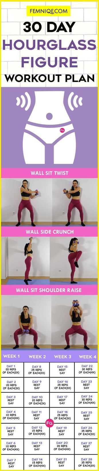 HOURGLASS FIGURE WORKOUT PLAN