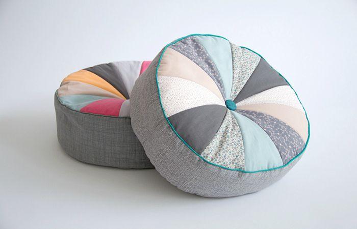 Eine tolle Idee. Ich werde es auch mal ausprobieren. DIY Nähanleitung: Sitzkissen nähen // diy tutorial: sewing a seat cushion via blog.dawanda.com
