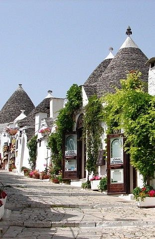 Streets of Alberobello, Italy Sorry if I start posting a bunch of things about…