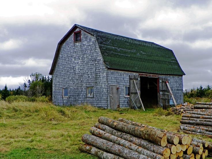 Winter Preparations On A Frenchvale- Cape Breton Island Farm