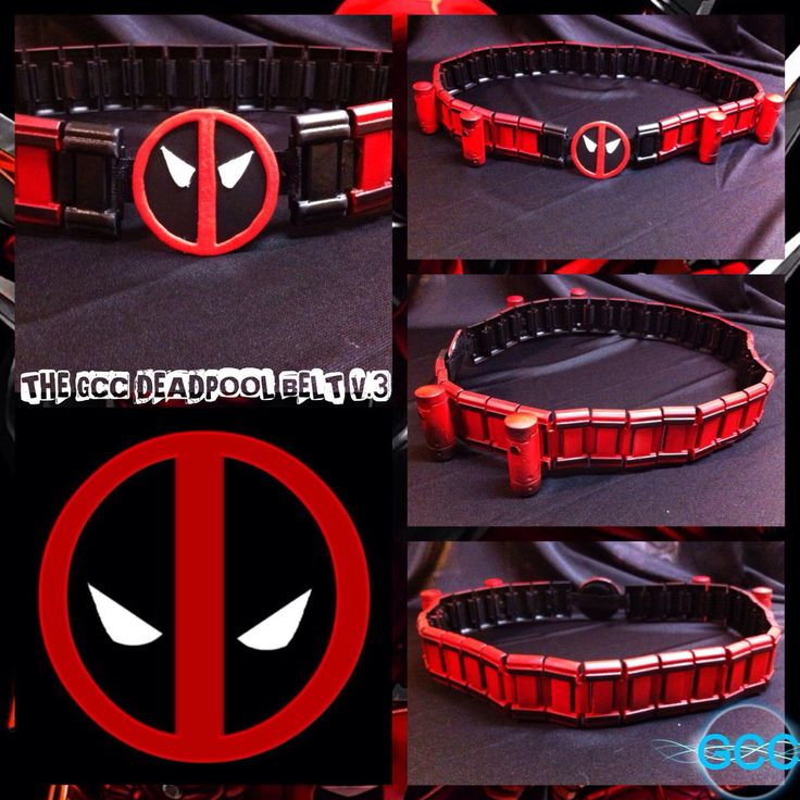 Deadpool Cosplay Tutorial The gcc deadpool belt v 3 by