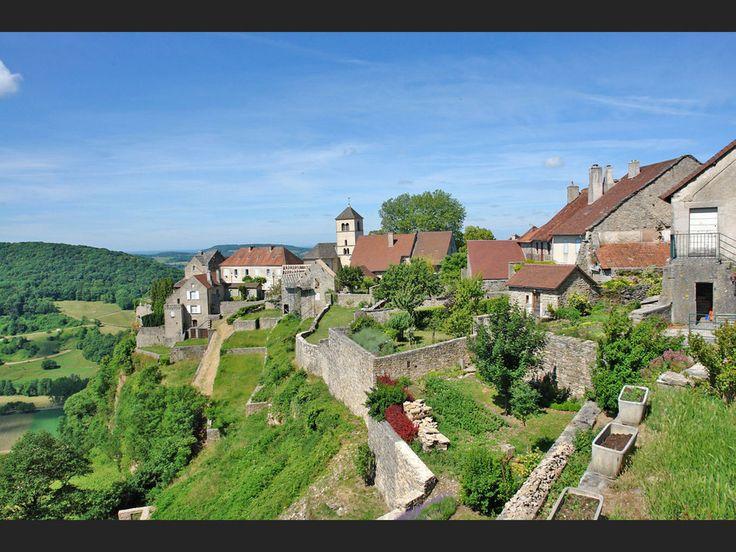 Château-Chalon, dans le Jura