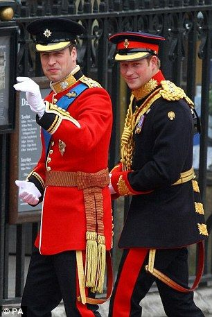 Princes William and Harry / Dad and Uncle 07/22/2013