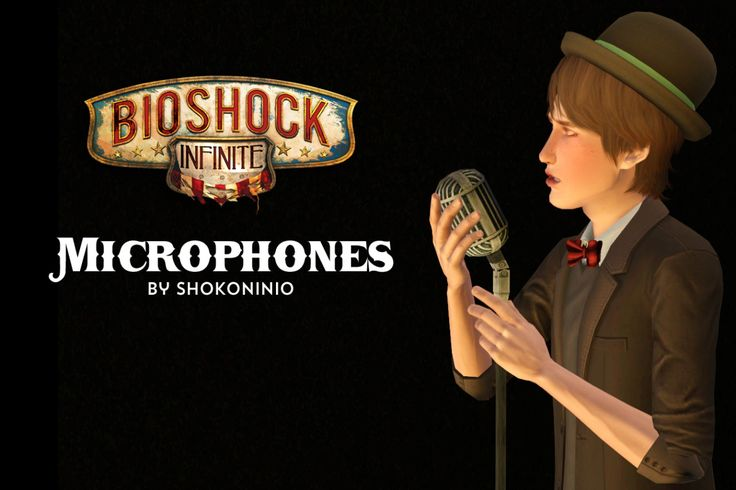 My sims 3 finds // shokoninio: [BioShock Inifinite]Microphones I...