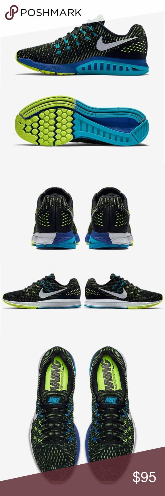 Men's Nike Air Zoom Structure 19 The Nike Zoom Structure 19 is a standard support running shoe best suited for daily training and moderate foot motion Nike Shoes Athletic Shoes