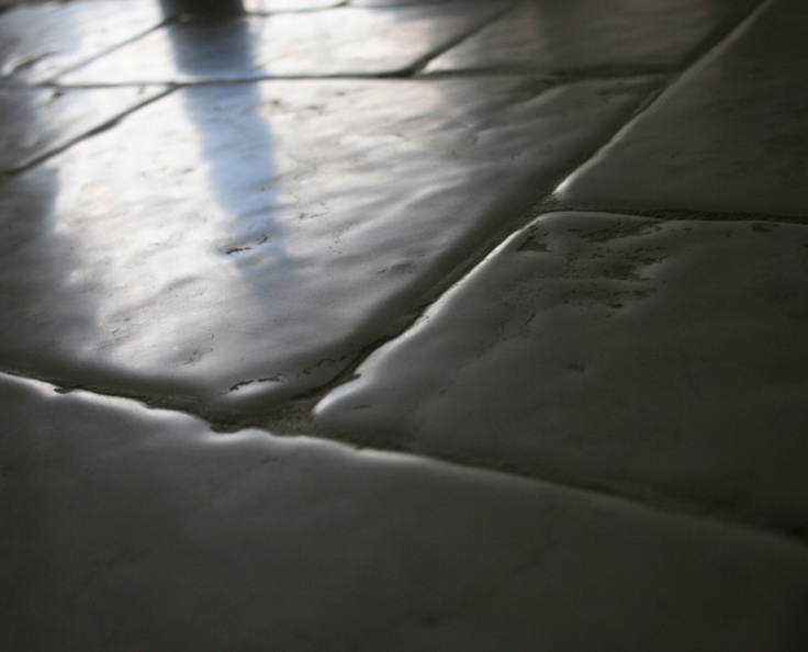 Bianco Asiago Marble Timeworn Tiles... Natural wavy antiqued surface made by patented process ....any sizes any kind of polished grade surface finishing.  www.historicalfloor.com