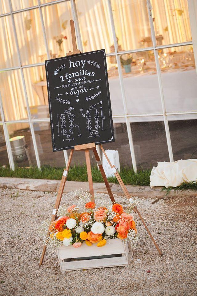 #chalk #wedding #idea #lettering