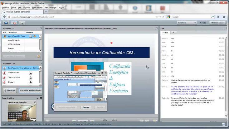 Seminario Procedimientos para la Certificación Energética de Edificios Existentes. Parte II