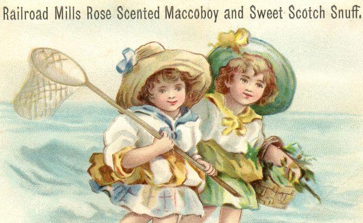1800's Railroad Mills Maccoboy Sweet Scotch Snuff Tobacco Trade ...