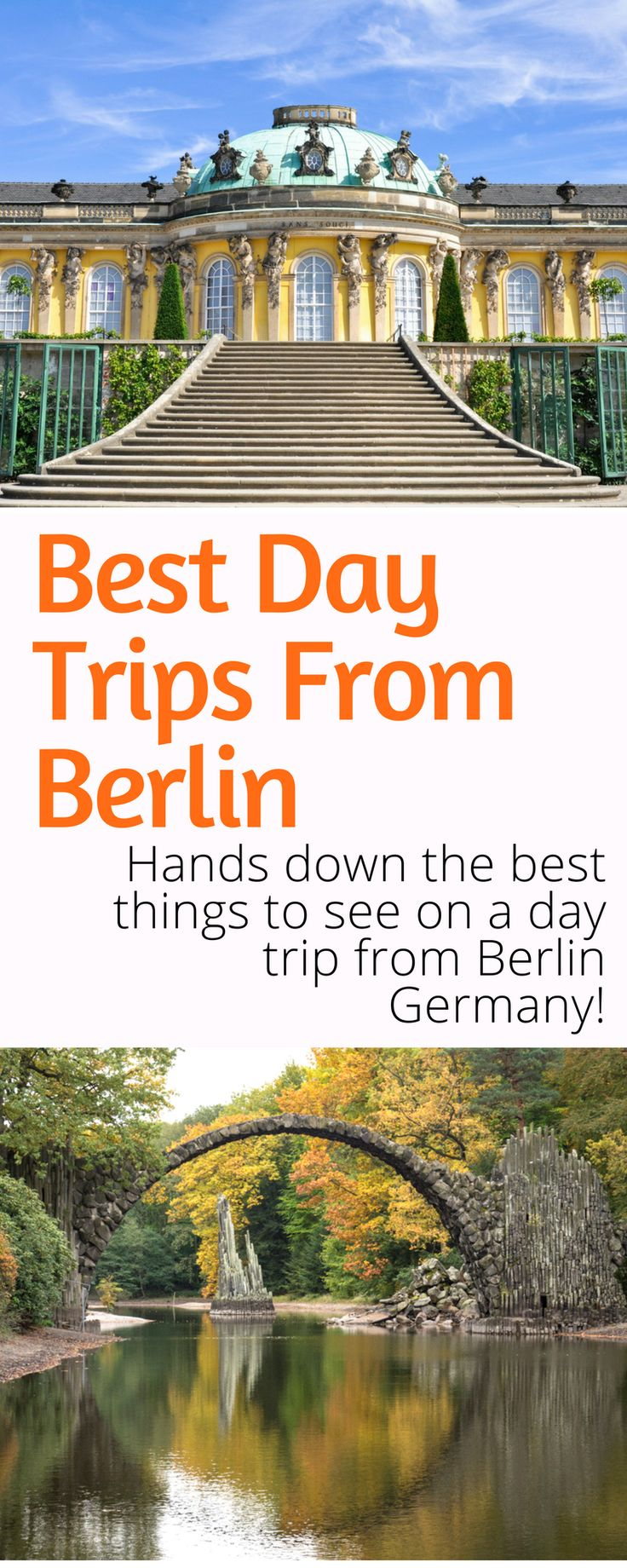 Best Day Trips from Berlin: A guide to the best destinations near Berlin Germany. Hiking, history, and beaches and more! Click here to start planning your day trips from Berlin!