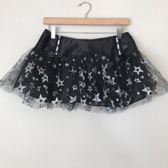 "LIP SERVICE Micro Mini's ""Shooting Star"" mini skirt #26-042"
