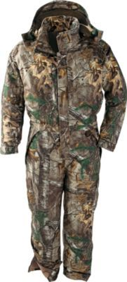 Herter's Insulated Coveralls provide full-featured, all-weather performance at an unbeatable price. Sizes: M-3XL. Camo pattern: Realtree AP™.
