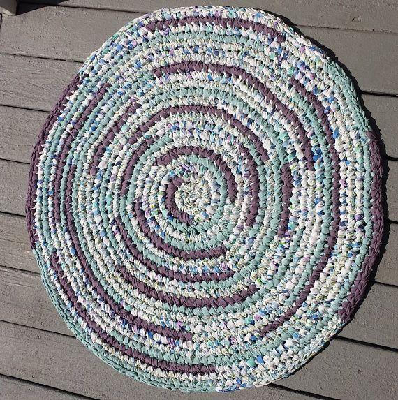 25+ Best Ideas About Crochet Rag Rugs On Pinterest