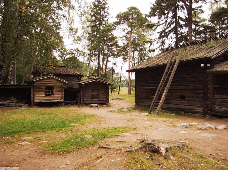 Seurasaari Open Air Museum is a place where visitors can learn about Finnish culture.  It's unlike traditional museums since it's outside and you can truly experience history by walking into old dwellings that people used to live in.  You can also look at and touch various artifacts that Finnish people used in the past.