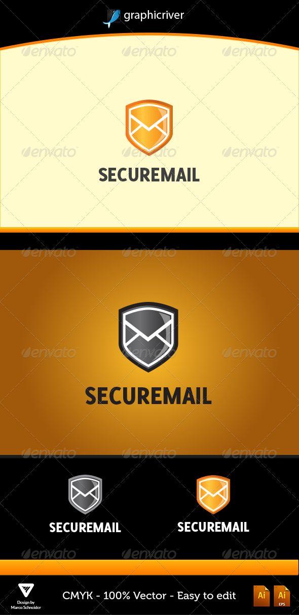 securemail securemail # graphicriver item details color cmyk fully ...