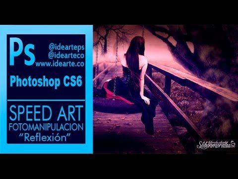 "Speed Art ""Reflexion"" Fotomanipulación by - @stiben_md - @idearteco"
