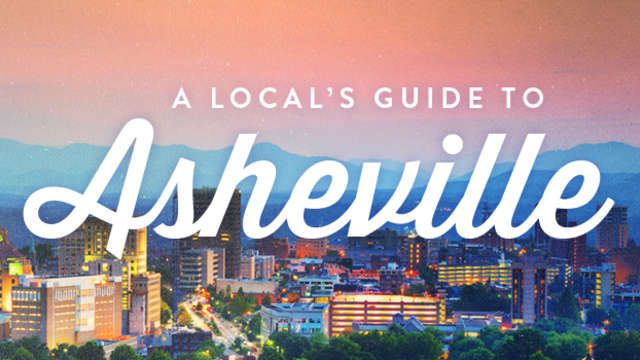 Some call it Beer City, USA, some call it Land of the Sky. Both are fitting names for the goregous city of Asheville tucked in the Blue Ridge...
