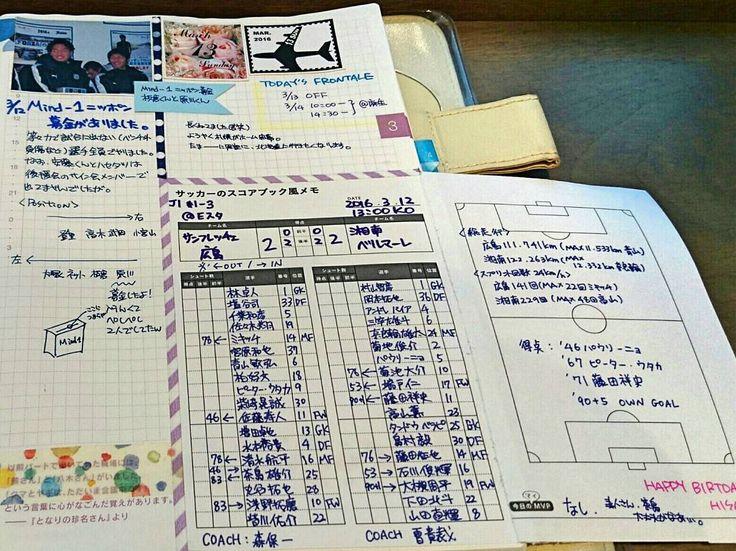 #ほぼフロ 20160312-13 土曜日の等々力で#mind1ニッポンプロジェクト として募金もありました そのときの立ち位置をメモ(大塚選手の位置だけ要確認) 3/13はのんびり札幌ホーム開幕  #frontale #jleague #川崎フロンターレ #kawasakifrontale  記録媒体は#ほぼ日手帳 #ponta日付シート #hobonichi #手帳ゆる友 #ほぼ日手帳カズン #ほぼ日avec #jサポ手帳の会 #待っているのは最高の週末だ by skycafe0419