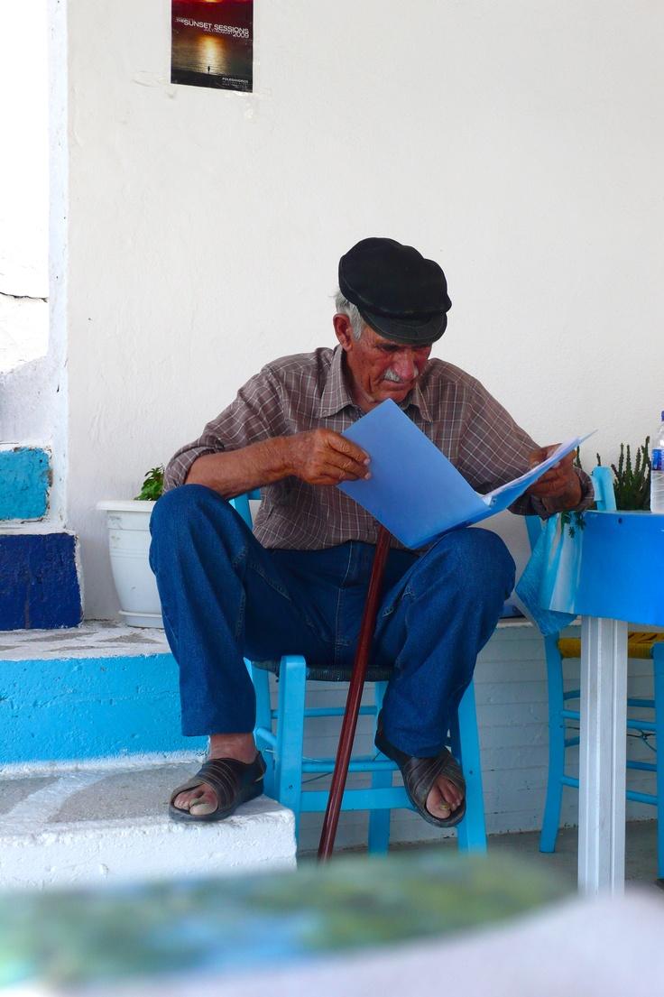 Local em Folegandros - Ilhas Cyclades