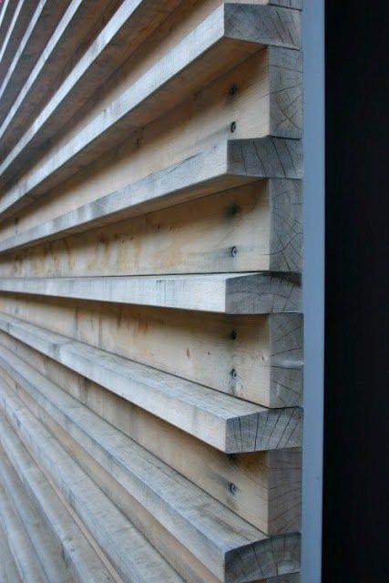 Deck. Unique wall treatments and textured walls
