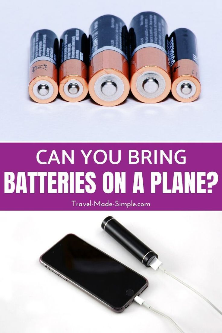 Can You Take Batteries On Planes Can You Take Air Travel Tips Plane Travel