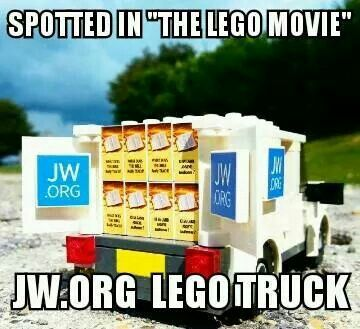 The Lego movie jw.org. We are becoming more and more well known!