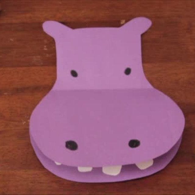 hippo preschool craft