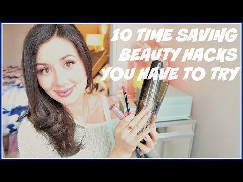 BEAUTY HACKS YOU SHOULD KNOW | TIME & MONEY SAVING TRICKS - YouTube