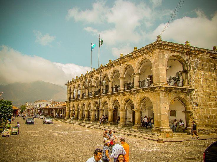 Palacio de los Capitanes. Antigua Guatemala.