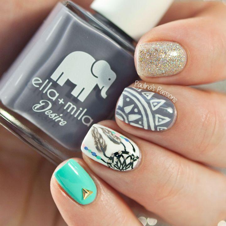 40 Great Nail Art Ideas - Dreamcatcher Nails