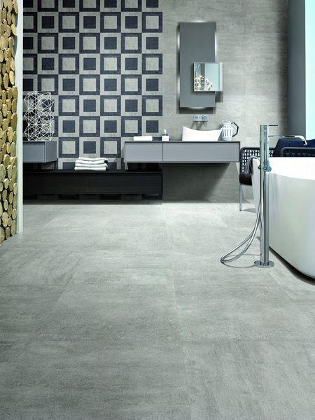 Carrelage on square emilceramica tanguy mat riaux sols for Materiaux salle de bain