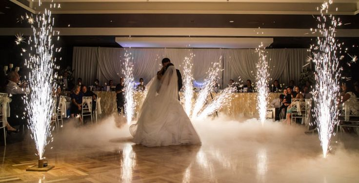 wedding indoor fireworks - Google Search