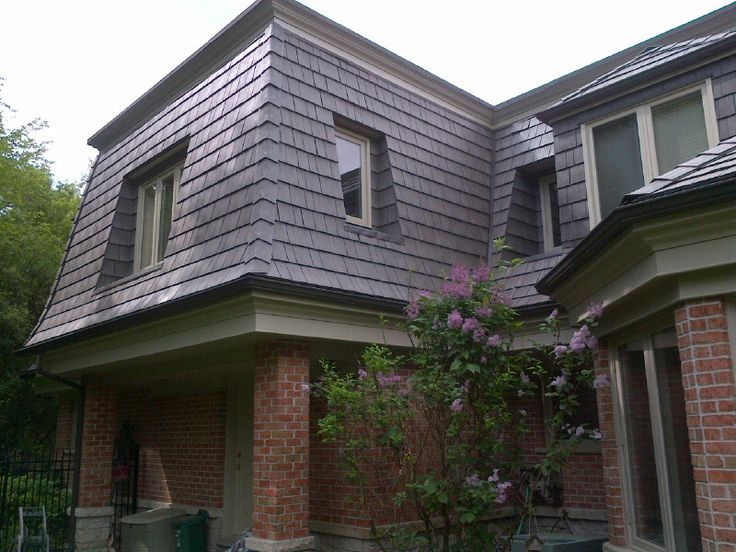 Mansard roofing roofing systems sc 1 st estate buildings for Modern mansard roof