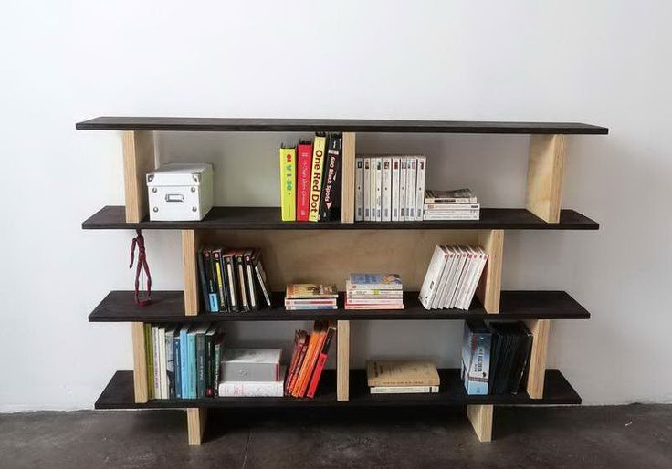 24 best images about learn how to build diy bookshelf on for Diy modern bookshelf