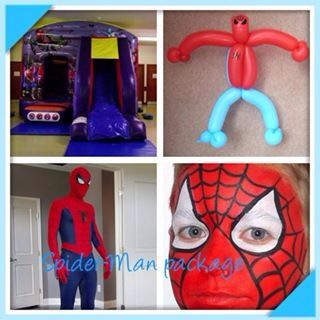 Spider-Man packages