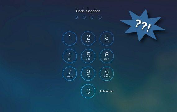 Code vergessen: iPhone, iPad und iPod touch zurücksetzen (Tutorial) – GIGA