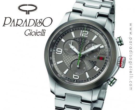 - Un #Gioiello Di #Orologio - Gucci Timeless #Cronografo #Uomo Scarica il tuo #coupon per te il 10% in più di #sconto!!! http://www.paradisogioielli.com/it/content/8-regali-per-san-valentino-gioielli-orologi-e-accessori-tante-idee-regalo-paradiso-gioielli  #Watchs #Cinturino #Gioielli #Jewels #Silver #Zaffiro #Quarzo #Acciaio