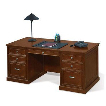 Statesman Compact Executive Desk #officedesk