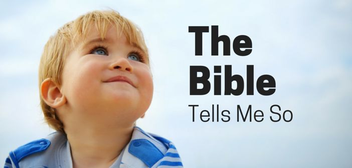 how to teach bible texts to children