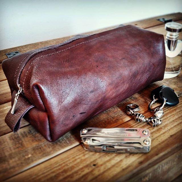 #necessarie #leathercraft #leatherbag #rusticman #handmade #dıy #leatherman