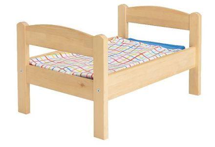 łóżeczko dla lalek - prezent wszechczasów –przegląd