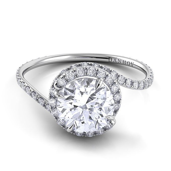 25 best ideas about Swirl engagement rings on Pinterest